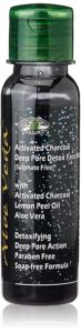 Best Face Wash for Pimples & Glowing Skin: Aloe Veda Activated Charcoal Deep Pore Detox Face Wash