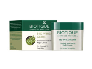Biotique Wheat Germ Youthful Nourishing Night Cream