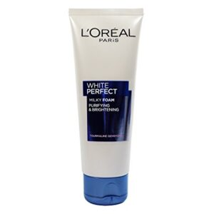 Best Face Wash for Glowing Skin: L'Oreal Paris White Perfect Facial Milky Foam
