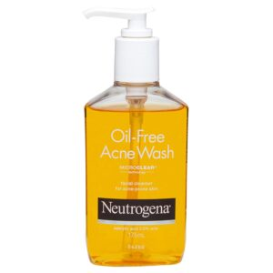 Best Face Wash for Pimples & Glowing Skin:  Neutrogena Oil-Free Acne Face Wash